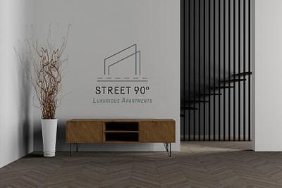 street90-logo-in-a-wall